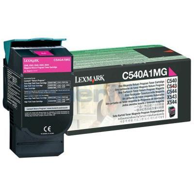 LEXMARK C540 C543 TONER CARTRIDGE MAGENTA RP 1K
